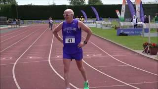 2017 National Master T & F Championships Mens 5K Walk...Video by Jerry Walsh