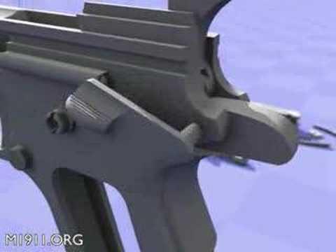 Despiece de la pistola colt