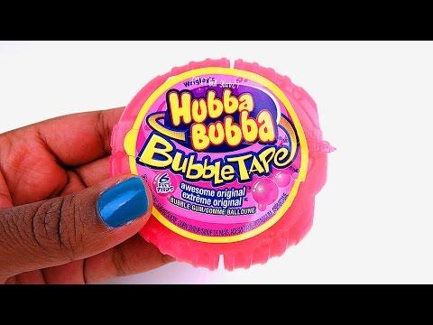How to Make Bubble Tape Shape Jelly Dessert Easy DIY Gummy Jello!