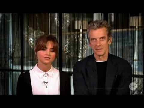 The NEW Dr. Who Peter Capaldi & Jenna Coleman