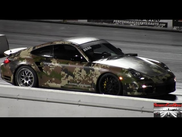 600 + WHP - Champion Porsche 997.2 PDK - 9.83 @ 135 mph with stock turbos - Street Car Drags