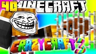 Minecraft CRAZY CRAFT 3.0 - Pranking BajanCanadian (Stealing His Beaver) #40