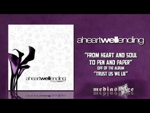 Cover image of song From heart and soul to pen and paper by A Heartwell Ending
