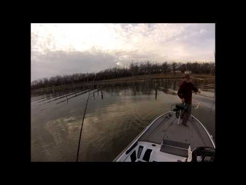 Lake Fork Fishing March 2013 GoPro Video
