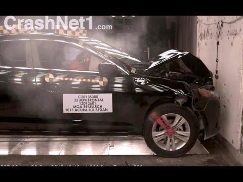 2013 Acura ILX | 40км/ч, краш-тест