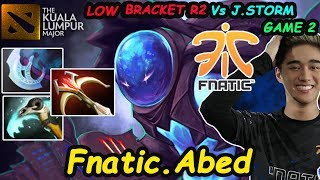 Fnatic.Abed - [Arc Warden] R[A]T Doto is the best DOTO #KLMAJOR LOWER BRACKET R2 Vs J.Storm Game 2