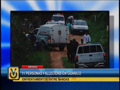 11 personas fallecieron durante enfrentamiento de bandas en caserío de Guárico