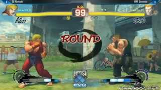 USFIV EVO 2014: MOMOCHI (Ken) vs DIEMINION (Guile) Top 32