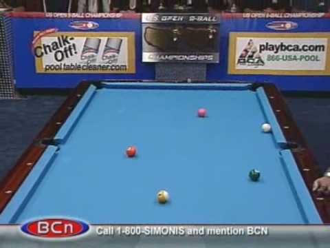 Billiards Pool U.S. Open 9-Ball: Strickland v. Bustamante