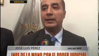 Inpe De La Mano Con El Poder Judicial