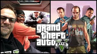 How GTA 5 was MADE: Interview with Trevor, Michael and Franklin