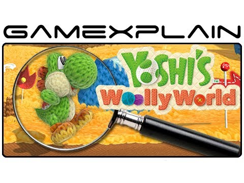 Yoshi's Woolly World - Gameplay Analysis (Secrets & Hidden Details)