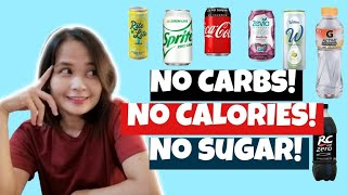 KETO LOW CARB DRINKS! Ano na na-TRY mo? Will it kick you out of Ketosis?