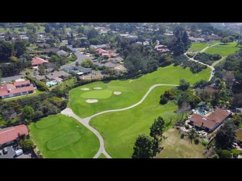 Solana Beach, CA - Lomas Santa Fe Country Club-Golf Course from Drone | DJI Mavic Pro