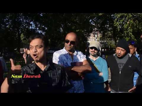 Lack Of Integrity! Mansur vs Soco Film l Speakers Corner l Hyde Park