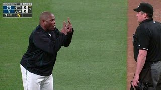 NYY@SEA: McClendon gets money's worth after ejection