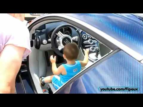 BABY Starts up his 2M€ Bugatti Veyron SuperSport.m