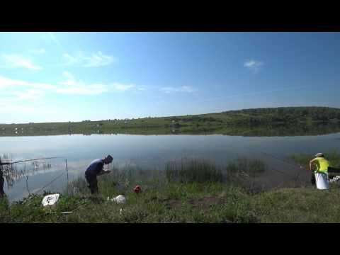 рыбалка на озере корегощ