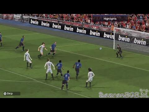 Pro Evolution Soccer 2012 Wii | YOUTUBE ALLSTARS vs MANCHESTER UNITED
