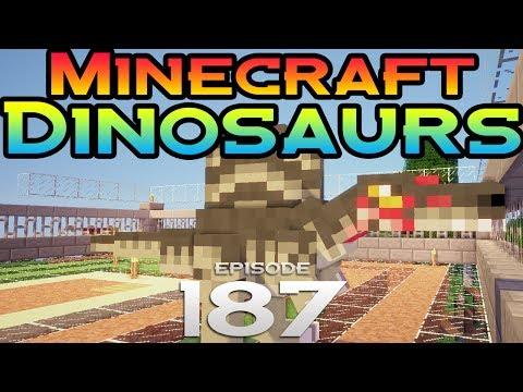 Minecraft Dinosaurs Episode 187 We got him there