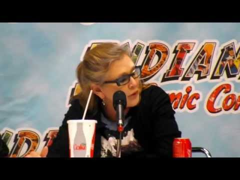 Carrie Fisher (Princess Leia) at Indiana Comic Con 2015 Part 1