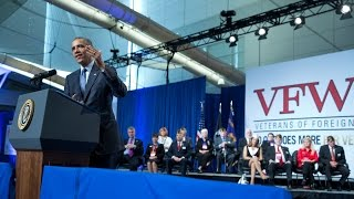 The President Speaks at the 116th National Convention of the Veterans of Foreign Wars