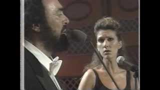 Celine Dion Luciano Pavarotti 34 I Hate You Then I Love You 34