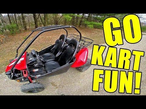 Hammerhead GTS 150 Go Kart POV Fun! + Top speed