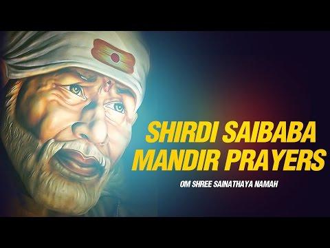 Shri Saibaba Mandir Ke  Aartis - Om Shri Sai Nathay Namaha -...