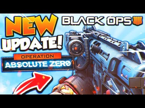 NEW DLC WEAPONS, NEW CAMOS, AND MORE! - BLACK OPS 4 NEW UPDATE TODAY! (BO4 Operation Absolute Zero)