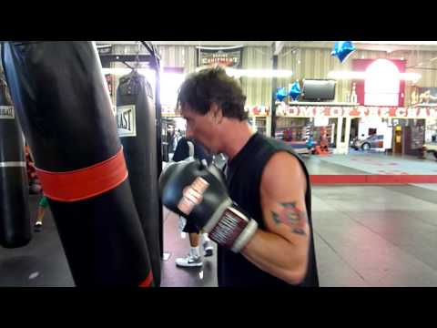 Joey Best Boxing Warm Ups Hooks Rhino's Gym Vista California 00056.MTS Image 1