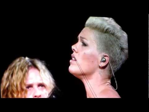 Pink - Who Knew * The Truth About Love Concert Tour 2013 * Orlando Fl 2 24 13 video