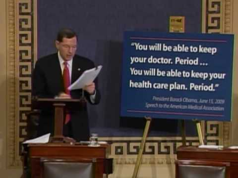 Senator John Barrasso: Another Broken Health Care Promise from President Obama