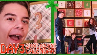 GIANT Advent Calendar Day 3 Christmas Countdown 2017
