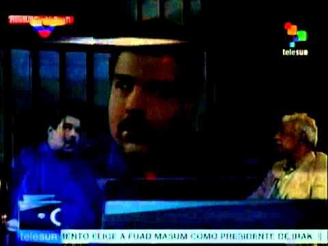 Entrevista a Nicolás Maduro por Telesur en inglés