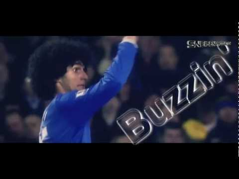 Marouane Fellaini | The Afro Man | Skills & Goals | 2012