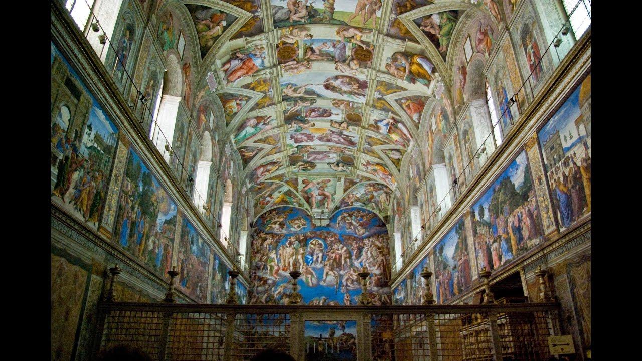 Volta della cappella sistina di michelangelo buonarroti for Decorazione quattrocentesca della cappella sistina
