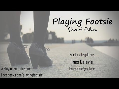 Playing Footsie - short Ines Calavia