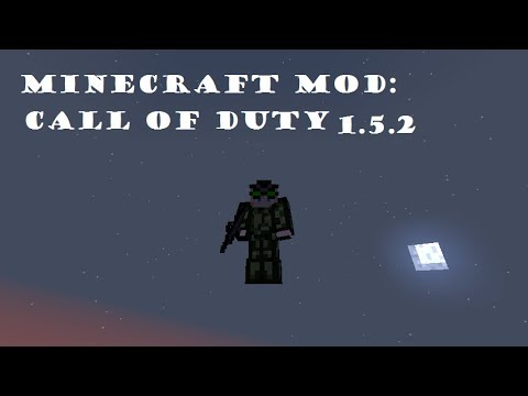 MINECRAFT MOD CALL OF DUTY 1.5.2 review