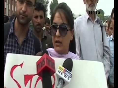 Crime Against Women  Activists Protest In Srinagar