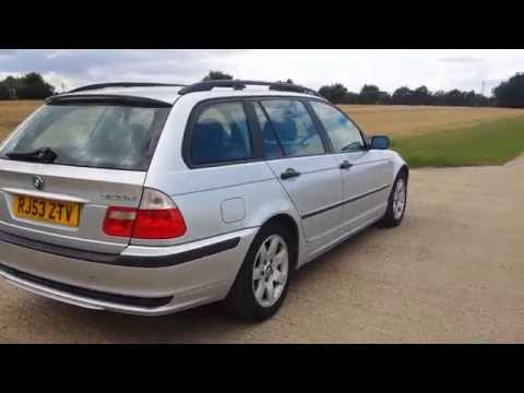 2003 BMW 320 D 320D ESTATE WAGON VIDEO REVIEW