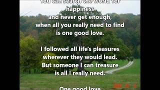 Watch Neil Diamond One Good Love video