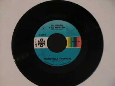 RICKY MARAVILLA cantando en maravilla tropical (1977) La jirafa y el monito