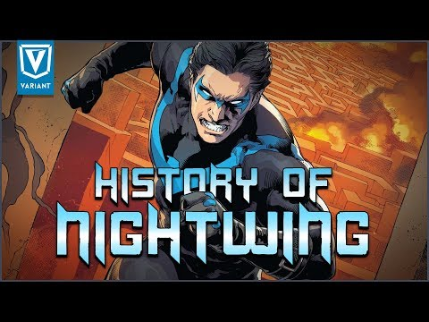History Of Nightwing!
