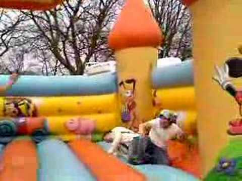 Bouncey Castle St Georges Day