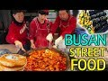 Lagu TRADITIONAL Korean STREET FOOD Market Tour in Busan South Korea