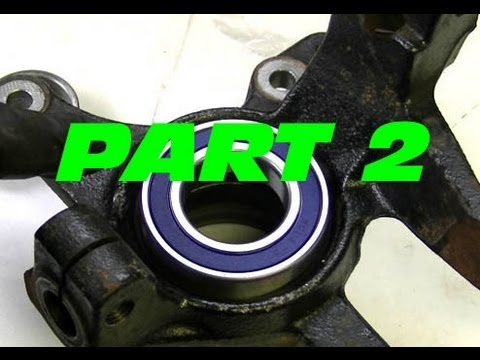 How To Replace The Front Wheel Bearings On Your ATV - PART 2
