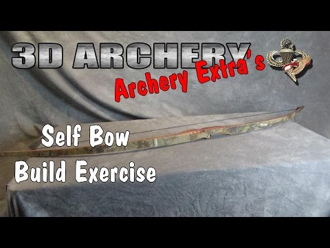 3D Archery - Youth Self Bow Build Exercise