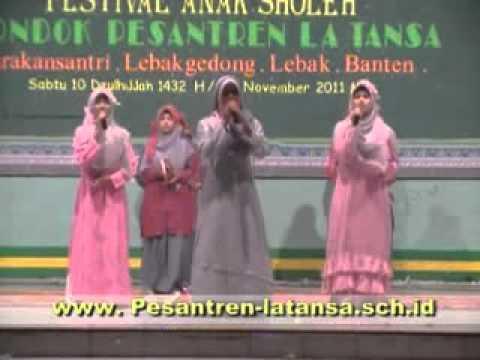 Qosidah Di Pesantren La Tansa 1432 H.flv video