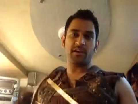 Mahendra Singh Dhoni for Mad O Wot Video